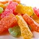Sour candy damages teeth