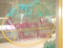 Strawberry Dental Signage