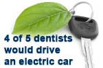 4 of 5 dentists would drive an electric car